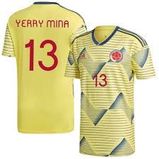13 Copa Mina Yerry 2019 Home Colombia Jersey America