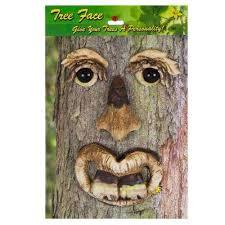 bucky tree face lawn garden decoration