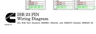 wiring diagram cummins isb 23pin for ecm 3942860 3944124 wiring diagram cummins isb 23pin for ecm 3942860 3944124 3990517 3666325 02