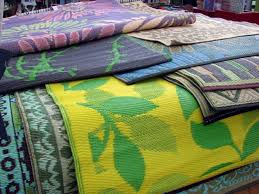 recycled plastic outdoor rugs