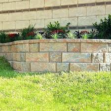 retaining wall block home depot building a fire pit with retaining wall blocks home depot landscape