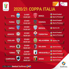 StarTimes - #COPPAITALIA FIXTURES! The fourth round of...