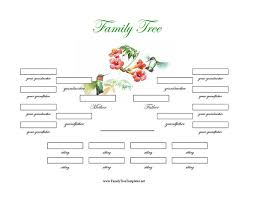 12 Premium Family Tree Template For Free Free Premium