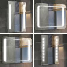 lighted bathroom mirrors home bathroom contemporary bathroom. Modern Backlit Slimline Illuminated Bathroom Mirrors With Light Sensor Switch | EBay Lighted Home Contemporary S