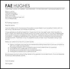 Build Cover Letters Building Inspector Cover Letter Sample Cover Letter Templates