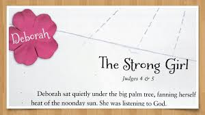 Just pick a coloring sheet, pay, and download! Deborah The Strong Girl Part 4 In A Fourteen Week Bible Study For Women Glenys Nellist