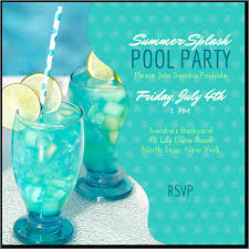 Sample Party Invite 8 Sample Best Pool Party Invitations Word Psd Ai