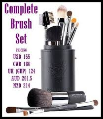 this is the best value these bruahes are amazing plete brush set from