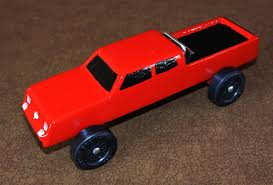 Boy Scouts Pinewood Derby Templates New Big Red Chevy Truck Pinewood ...