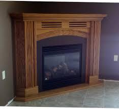 kitchen corner fireplace gas direct vent propane ventless
