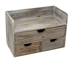 Wooden office desks Traditional Vintage Rustic Wooden Office Desk Organizer Mail Rack For Desktop Tabletop Or Counter Amazoncom Vintage Rustic Wooden Office Desk Organizer Mail Rack