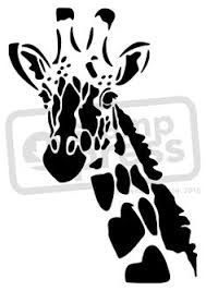 2a7a321c92e5efbbbb1055df9eadf0d0 giraffe and baby stencil viseras pinterest babies, stencils on html templates for ebay listings