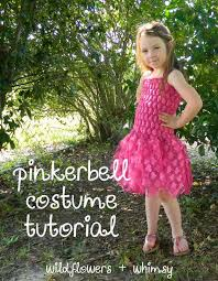 tinkerbell lined tutu dress tutorial 13 diy tinkerbell costume ideas