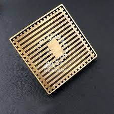 drain grate square shower drain within gold antique bronze odor removal remodel 9 metal drain