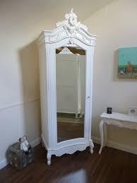 corner bedroom furniture. Bedroom:Bedroom Furniture Using Corner White Chic Wardrobe Armoire Near Small Table On Bedroom U