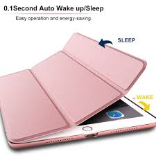 for ipad pro 10 5 case smart cover for new apple ipad pro 10 5 inch 2017 model with auto sleep wake pu leather shell in tablets e books case from