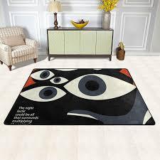 Malplena Art Eyes Pattern Rugs For Room Doormat Carpet Floor Mats