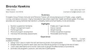 Fitness Instructor Resume Simple Fitness Instructor Resume Samples Database Zumba Sample Now Reviews