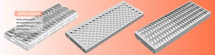 three kind of safety grating