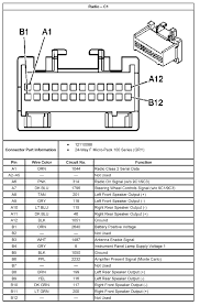 chevy factory radio wiring diagram image details 2005 chevy impala radio wiring diagram