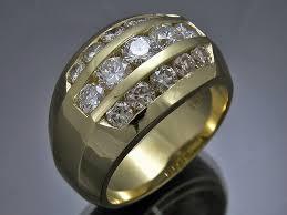 mona lisa jewelers mens custom yellow gold rings