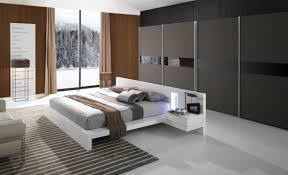 Lacquer Bedroom Furniture Modern White Lacquer Bed