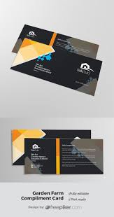 With Compliments Card Design Corporate Business Compliment Card Corporate Business