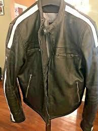 Bilt Jacket Size Chart Motorcycle Reflective Leather Jacket Black With Hard Armor