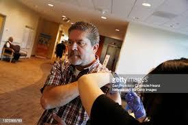 Stan Kramer of Milpitas, gets a flu shot at the Kaiser Permanente ...