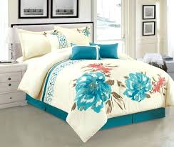 c and teal twin bedding turquoise blue comforter set bed linen