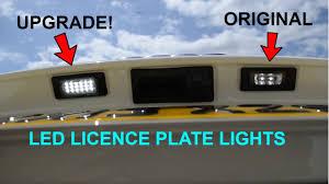 Audi A3 Led License Plate Lights Audi A3 8v 2013 Led Licence Plate Lights Install