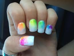 bright summer nail designs low onvacations wallpaper image