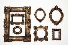 black antique picture frames. Photo Frame Set Of 7 Decorative Oval, Square Black Frames Gold Patina  Classic Black Antique Picture Frames