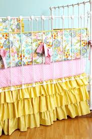 shabby chic nursery bedding solid color blush pink baby girl crib