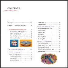 table of contents first page child development through wet clay and paint your own ceramics