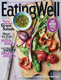 Kitchen Garden Magazine Subscription Eatingwell Amazoncom Magazines