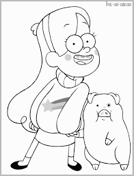 Gravity Falls Coloring Pages New Free Coloring Pages Of Gravity