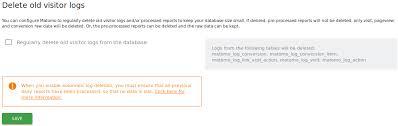 Configure Privacy Settings In Matomo User Guide Analytics Platform