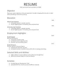 First Job Resume Impressive First Job Resume Builder Holaklonecco