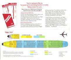 707 Seating Chart Airlines Past Present Twa Seat Guide Map