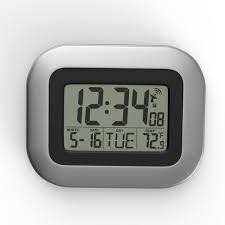 3d max modern wall digital clock