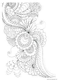 Mandala Art Coloring Pages Hard Hard Mandala Coloring Pages Free