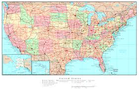 download usa map roads  major tourist attractions maps