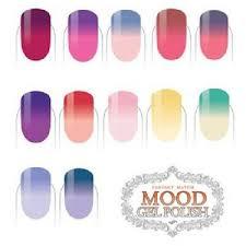 Lechat Perfect Match Mood Changing Color Set Of 7 Gel Polish