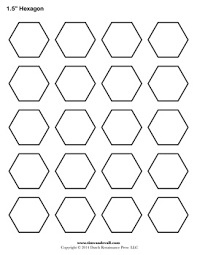 Blank Hexagon Templates | Printable Hexagon Shape PDFs & Hexagon Adamdwight.com