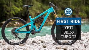 Yeti Mountain Bike Size Chart 27 5 Inch Aint Dead Yeti Sb165 Turq T2 First Ride Review