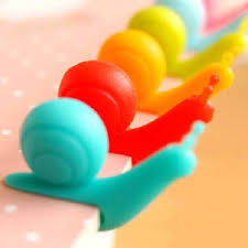 Novelty <b>Cute Snail</b> Shape Silicone Tea Bag Holder Candy Colors ...