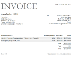 Invoice Schedule Template Bank Invoice Format Excel Template Project Management Business