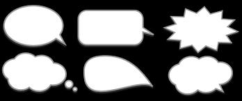 ふきだしのホームページ素材 無料イラスト作成ソフトinkscapeインク