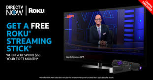 start streaming live sports on directv now here s how to get a free roku streaming stick on us